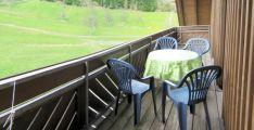 Ferienwohnung Haus - Balkon