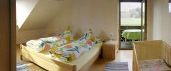 Ferienwohnung Haus - Schlafzimmer